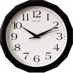 Часы настенные 28,2см пластик П-Г6-015