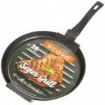 Сковорода 26см без крышки Super Grill