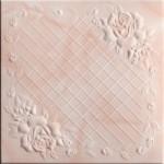 Плитка потолочная 2064 С /агат персиковый/ 0,50*0,50м (8шт)