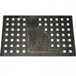 Коврик резиновый DRP-235 (кошка) 45х75см CleanWill