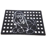 Коврик резиновый DRP-236 (собака) 45х75см CleanWill