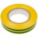 Изолента ПВХ желто-зеленая 15мм*20м ТДМ