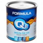 Эмаль ПФ-115 желтая 2,7кг/6шт FORMULA Q8