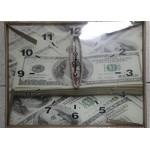 Часы настенные 30*40см стекло Доллар