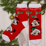 Носки детские Новогодние. Микки Маус и его друзья 16-18см 4-6лет 1493136