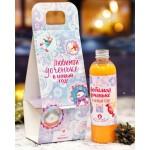 Гель для душа в сумочке Любимой доченьке в Новый год, аромат абрикоса