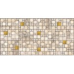 Мозайка ПВХ Плитка Мрамор с золотом 955*480
