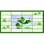 Мозайка ПВХ Плитка Мята 955*480
