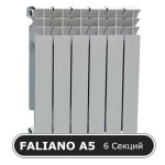 Радиатор биметалл. FALIANO 500/80 А5 6 секций