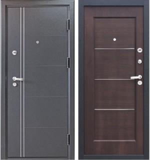 Дверь мет. Ferrum Венге (960L) левая