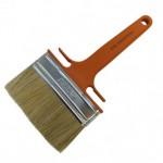 Кисть пл. Наф-Наф 120*35мм св. щетина, оранж. пласт. ручка (222-0125)