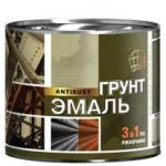 Грунт-эмаль по ржавчине 3в1 голубая/1,9л/Радуга/6шт