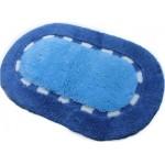 Коврик для ванной 50*80 см ТК2072 голубой