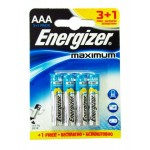 Батарейка ENR Maximum LR06  AAA FSB4 /бл 4 шт 328