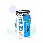 Затирка Ceresit 2кг крокус