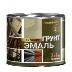 Грунт-эмаль по ржавчине 3в1 коричневая/2,7л/Радуга/6шт
