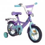 Велосипед 12 Graffiti Холодное сердце фиолет. 1223806