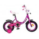 Велосипед 12 Graffiti Fashion фиолетовый