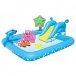 Бассейн игровой 239*206*86см. 308л+игрушки Фантас. аквариум 499416