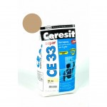 Затирка Ceresit 2кг сиена