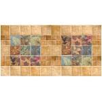 Мозайка ПВХ  Листья в камне 964*484