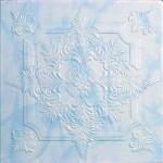 Плитка потолочная 2056 С /агат голубой/ 0,50*0,50м