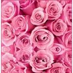 ФОТОобои 196*201см Розовые розы 6л