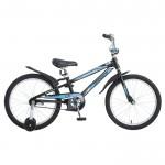 Велосипед 20 Novatrack Dodger черный  3593712