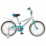 Велосипед 18 Novatrack Novara белый  3593704