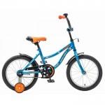 Велосипед 16 Novatrack Neptun синий