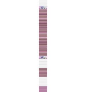 Панель ПВХ UNIQUE Ольга (фон)смешанный  0,25*2,7м*8мм