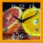 Часы настенные 23,5см пластик ЦИТРУС