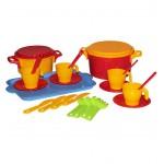 Набор детской посуды Хозяйка (2 перс. 12пр.) М2226