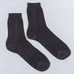 Носки мужские в сетку М-53 черный р. 29