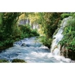 ФОТОобои 294*201см Тропический водопад 9л
