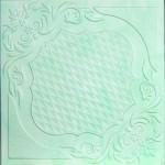 Плитка потолочная 2067 С /агат изумрудный/ 0,50*0,50м