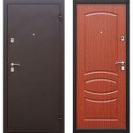 Дверь мет. Стройгост 7-2 (960L) левая Итальянский орех