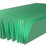 Подложка п/ламинат листовая 2мм желтая/0.5*1.05м/ упак-5.25 м2