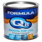Эмаль ПФ-115 изумрудная 2.7кг/6шт FORMULA Q8