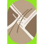 Ковер 0,8*1,5 Витебск (шегги) sh/97/а2о/83