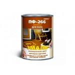 Эмаль ПФ-266 желто-коричневая 0,9кг/14шт FARBITEX