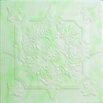 Плитка потолочная 2056 С /агат изумрудный / 0,50*0,50м