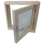 Окно для бани 40*40*100 СМ2 стекла
