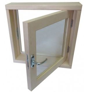 Окно для бани 50*40*100 СМ2 стекла