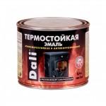 Эмаль термостойкая серебро 0,4л DALI / 6шт.