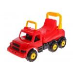 Машинка детская Веселые гонки красный