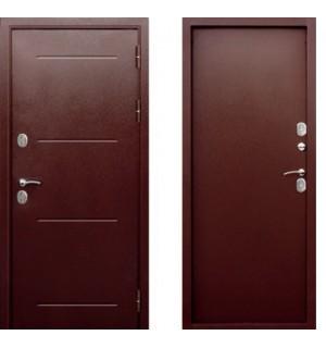 Дверь мет. ISOTERMA 11см (860R) правая медный антик мет/мет