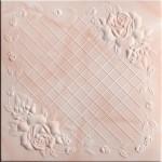 Плитка потолочная 2064 С /агат персик/ 0,50*0,50м
