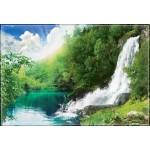 ФОТОобои 294*201см Звенящие водопады 9л