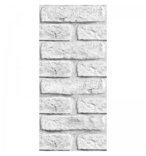 Панель ПВХ Кирпич серый  2,7м (8) LT-01